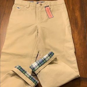 NWT VV Boys 5 pocket pant lined with flannel sz 7